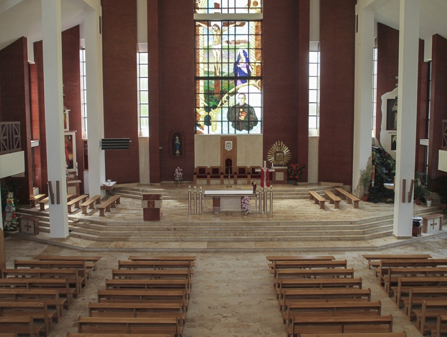 Kościół Niepokalanego Serca NMP - wnętrze